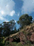 Cerro de Chapultec y cuevas
