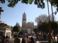 Catedral y Cruz