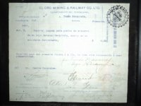 Certificado de Indemnización por muerte de minero, El Oro_1024x768