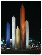 Torres-Satelite-Noche Vertical