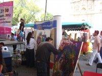 Expo Pintura Evelyn Sixtos en Feria