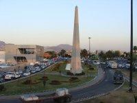 Obelisco y Glorieta Sor Juana Ines de La Cruz