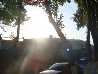 Calzada de Los Jinetes, Puesta de Sol