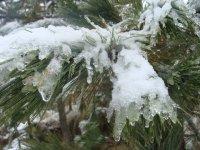 Nevado con nieve