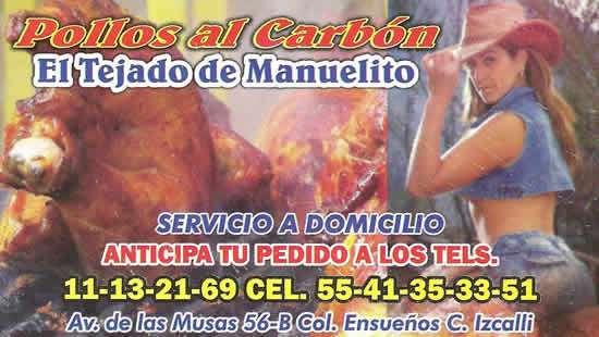 Pollos al Carbon, El Tejado de Manuelito