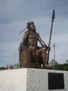 Escultura Cuitlahuac Zocalo Nezahualcoyotl