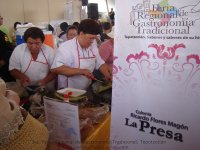 Expositor Colonia Ricardo Flores Magón, La Presa